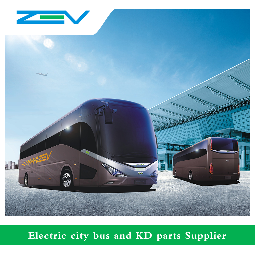 ZEV Pure Electric Long Distance Travel Coach Bus Price