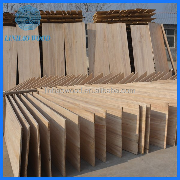 Factory Price Paulownia Solid Board