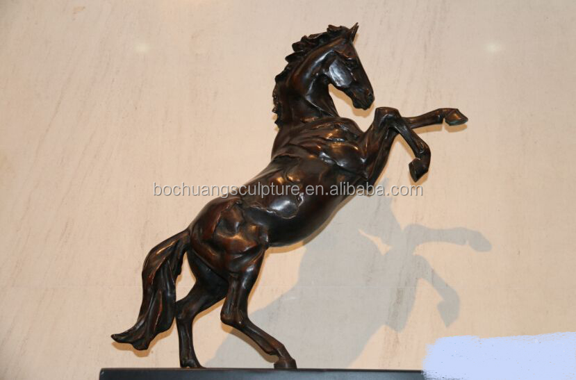 animal outdoor life size horse bronze garden sculptures for sale