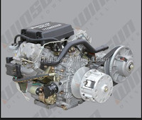 27HP air-cooled v twin diesel engine driven CVT transmission and Gearbox mounted(WSC910)