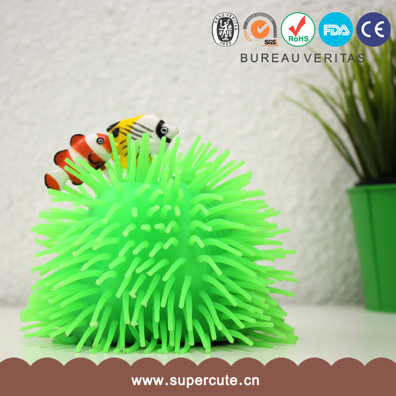 High quality materials clownfish style sea anemones like toy light and sound