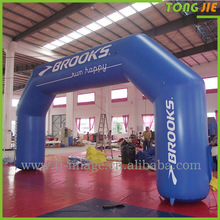 Promotion PVC tarpaulin inflatable welcome arch for event