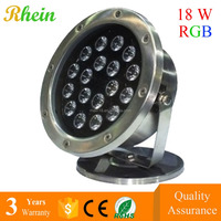 IP68 Submersible RGB LED swimming pool light 8W 18W 30W 35W high power LED Underwater Lighting 12V Boats fishing green