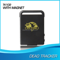 mini gps rastreador tk102 car tracking with geo-fencing,movement speed alerts