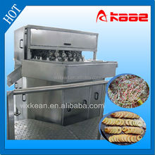 Industrial apple peeling/pitting/cutting machine