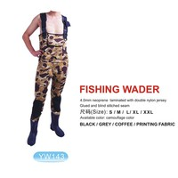 5mm camo custom neoprene fitness waders for fishing hunting