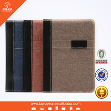 2014 hot sell PVC and PU leather trim tablet pc sleeve case for Ipad mini cover