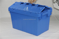 Nestable and stackable plastic storage container
