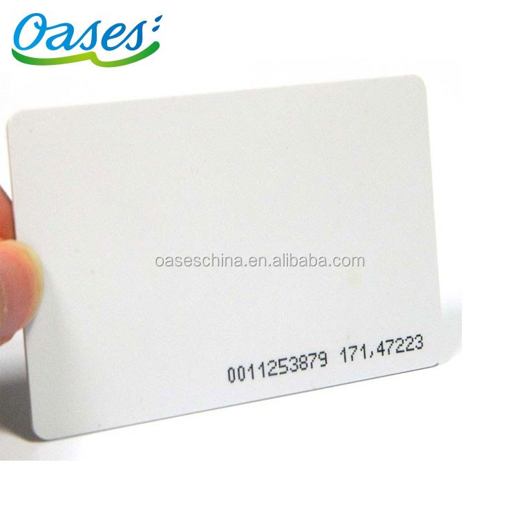 125khz TK4100 Proximity rfid smart card