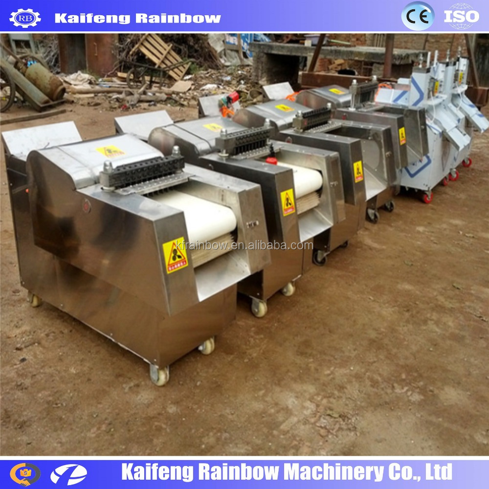 Factory Price Automatic Frozen Meat Dicer Machine Chicken Cutting Machine Price /Chicken Cutter/Poultry Dividing Machine