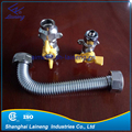 gas meter flexible stainless steel corrugated connectors