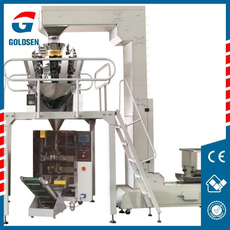 Auto Vertical Food Packaging Machine Combine 10/14 Heads ...