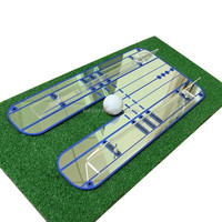 Golf Large Putting Alignment Mirror,Golf Putting Mirror Training Aid
