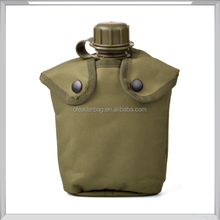Army Military Outdoor Water Bottle Drinking Container with Canteen & Nylon Carrying