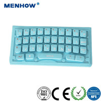 Soft Slim Qwerty Tactile Silicone Rubber