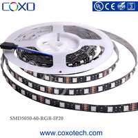 Low Price 3 Years Warranty UL ROHS CE 5m RGB SMD 5050 Flexible LED Stripes