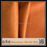 two tone semi pu synthetic leather for sofa material