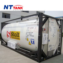 Factory price stainless steel liquid portable reefer tank container