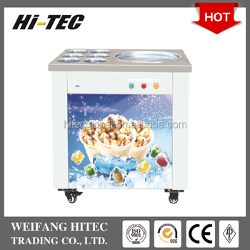 Single Pot Pan With Six Holes CBJY-1D6C Fried Roll Ice Cream Machine