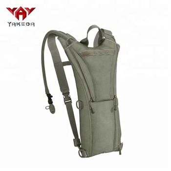 Yakeda high quality waterproof multi-function tactical military hydration bladder backpack water bag