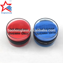 Acrylic sand paperweight item for promotional gift with logo
