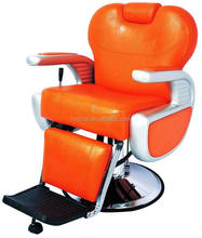 sale fashion luxury orange barber chair for hairdressing and shaving