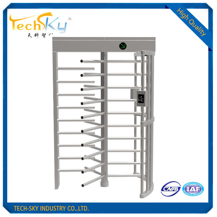 G-538 304 stainless steel full height turnstile gate for access control