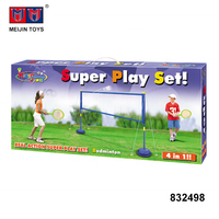 basketball badminton 4 in 1 play set outdoor sport toy for selling