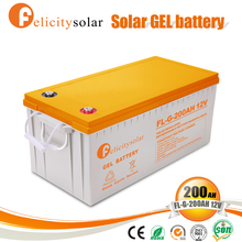 Long cycle life deep cycle solar battery 12v for Bulgaria