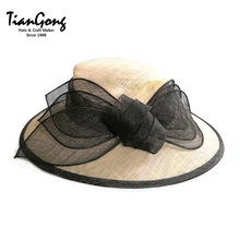Excellent Material Sinamay Fabric hat for party