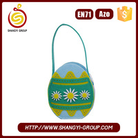Mini Cheap Easter Egg Shape Party Bag for Home Decoration