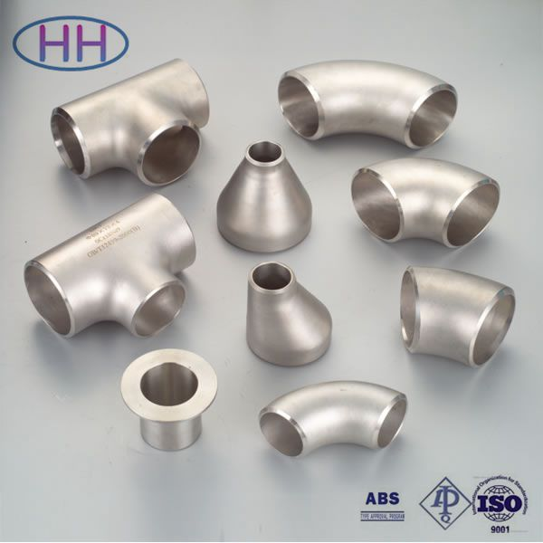ANSI B16.9 galvanized steel pipe fitting dimensions with ABS certification