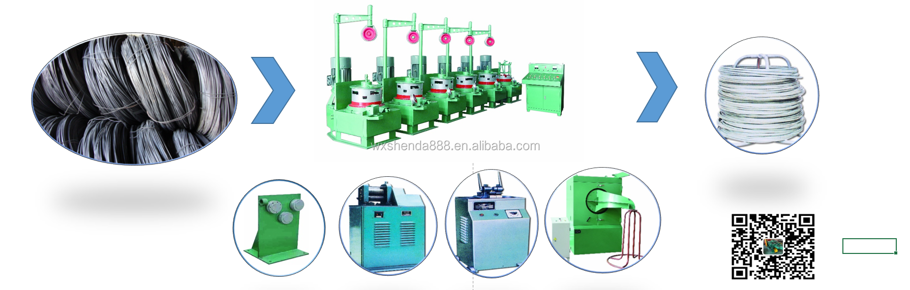 Wire drawing die steel wire drawing die