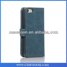 leather Flip Wallet luxury case cover skin for iPhone 5s 5G,5S Case