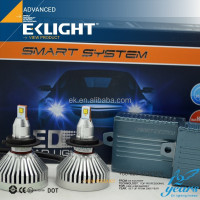 EK LIGHT Smart System New And Hot Auto LED Headlight Car Led Headlight H4 H7 H8 H11 9005 9006 led headlight for motorcycle