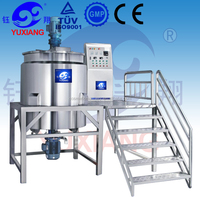 High Quality 500L Mixer Electric Heating pharmaceutical cosmetics manufacturing equipment