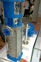 Casting multistage high pressure centrifugal pump