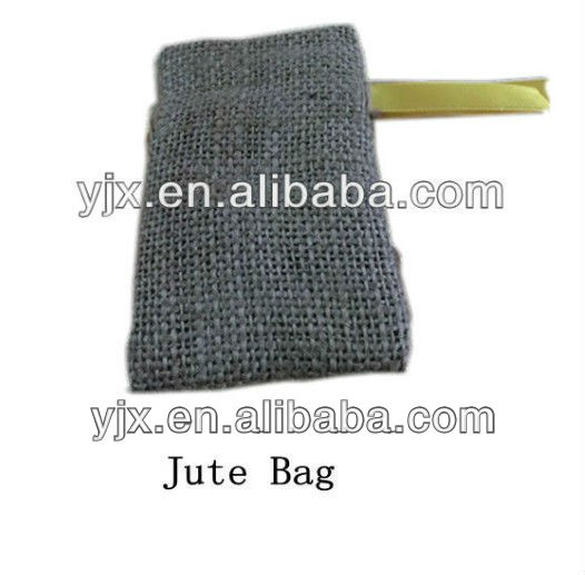 Jute Gunny Sack with Ribbon for Wrap