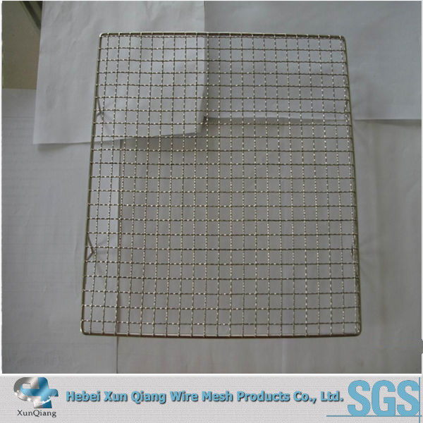 square 304ss stainless steel barbecue wire <strong>mesh</strong>