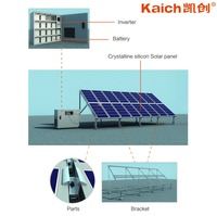 Portable 500W 1KW 2KW 3KW 4KW 5KW 8WK 10KW Up to 30KW Off Gird Solar Engery Power Generation System