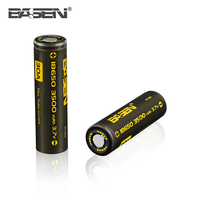 High capacity BASEN 18650 3500mah rechargeable lithium ion car battery 30A for vape mods