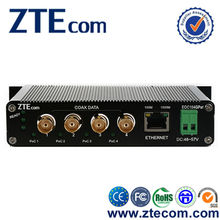 ZTEcom Excellent Power Saving 4 ports 10/100/1000M Ethernet over Coax with CE