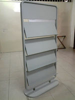 Book Display Rack with Logo