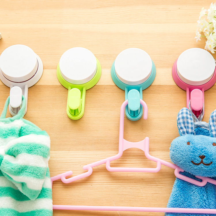 J322 Hot Selling DIY Cartoon Bathroom Plastic Wall <strong>Hook</strong>, Strong Suction Cup <strong>Hook</strong>