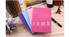 Tablet wood grain style pu leather stand wallet case for iPad Mini 2