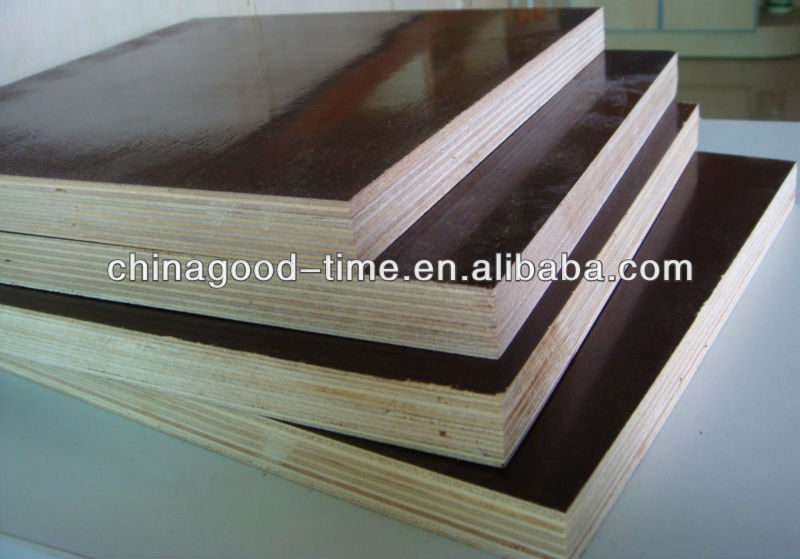 Black/Brown filmfaced plywood