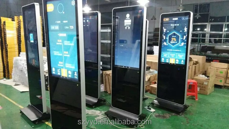 Floor Stand Digital Signage lcd Display advertising Screen 42 46 55 65 inch