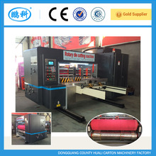 automatic die cutter and creasing machine carton, corrugated cardboard automatic rotary die cutter machine