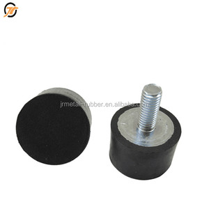 Dongguan screw fix rubber feet screw nut metal bolt manufacturer with black color