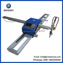 Professional cnc cutting tools/portable cnc flame/plasma cutting machine machine for steel , aluminum